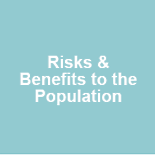 risk and benefits of health of the population section title